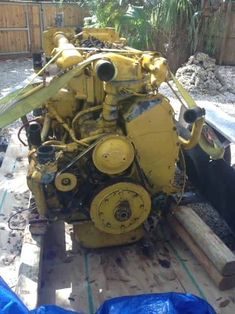DELFIN41A Used marine engine