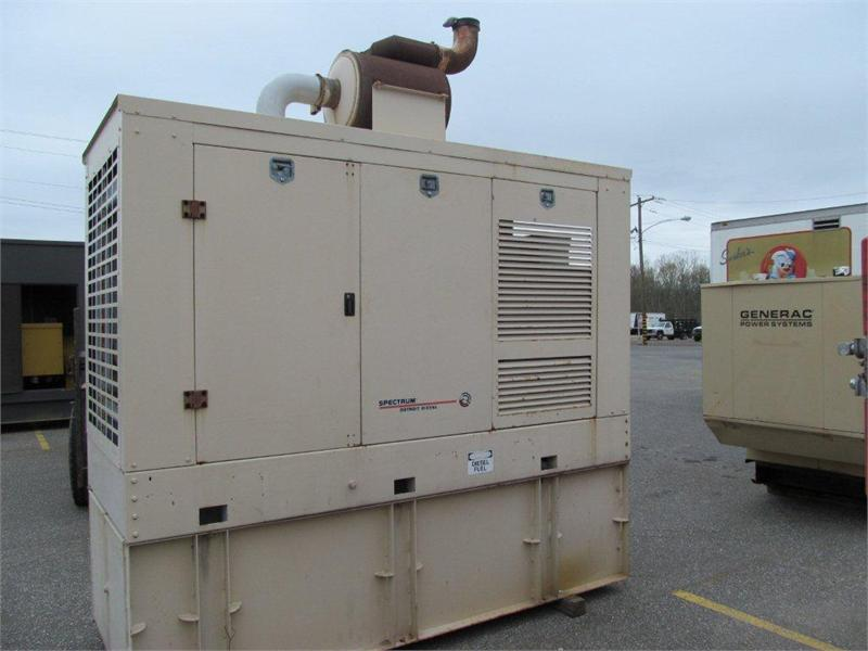 6-71 200DS  Industrial Generator Set
