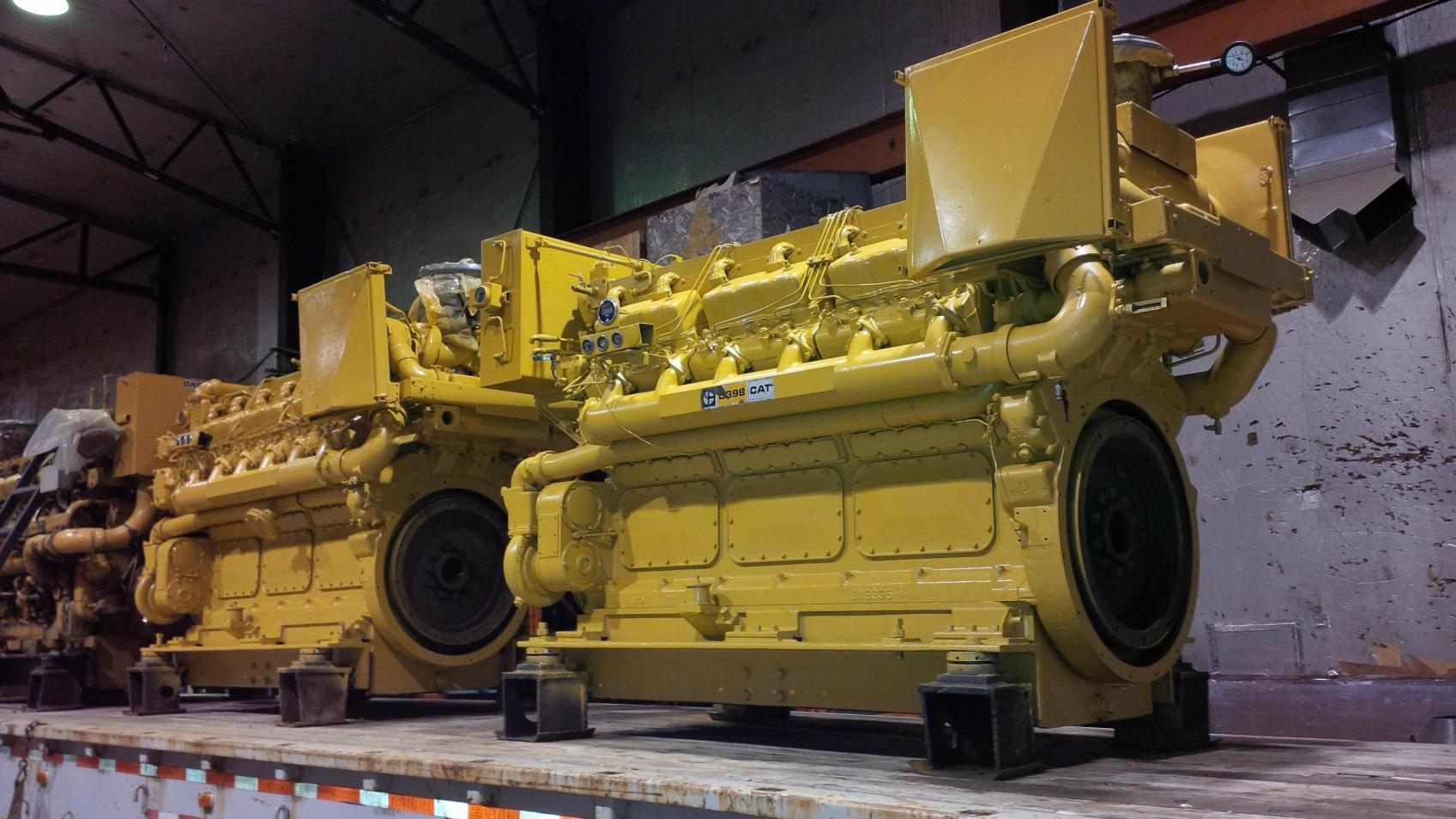 Cat D398 Used Marine Engines