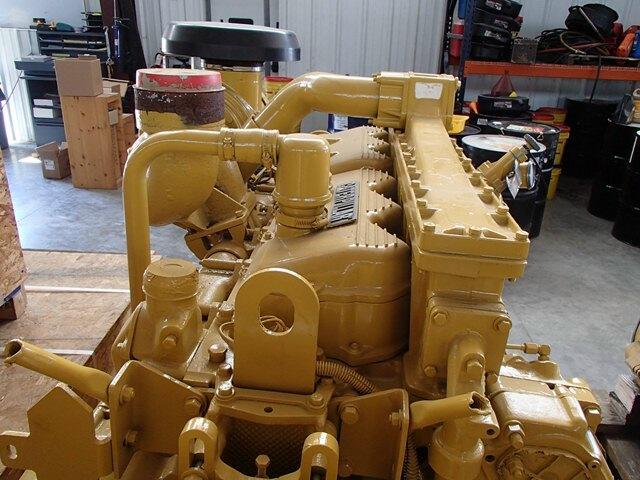 Caterpillar 3406 used industrial engine for Caterpillar 3406 starter motor