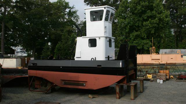 Truckable Tug For Sale - Truckable Pushboat Tugs For Sale