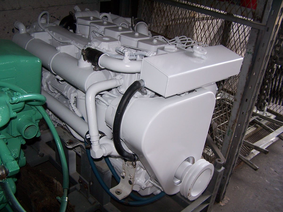 Cummins 6bta Rebuilt Marine Engine