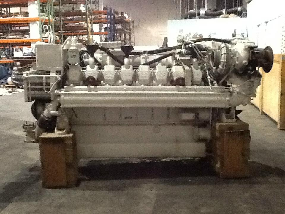 16v-2000M USED MARINE ENGINES
