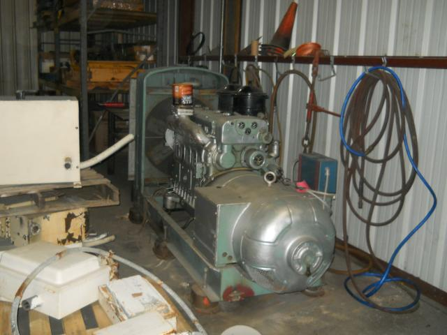 6-71N USED INDUSTRIAL GENERATOR SET