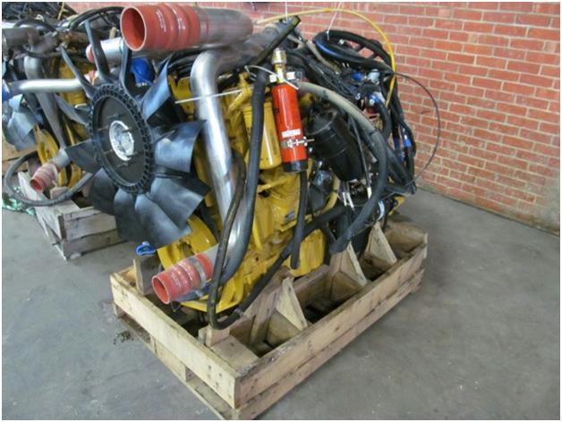 Cat C-9 Acert Industrial Engines