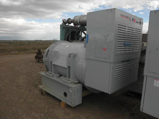 2500 DSE 2500 KW gen end