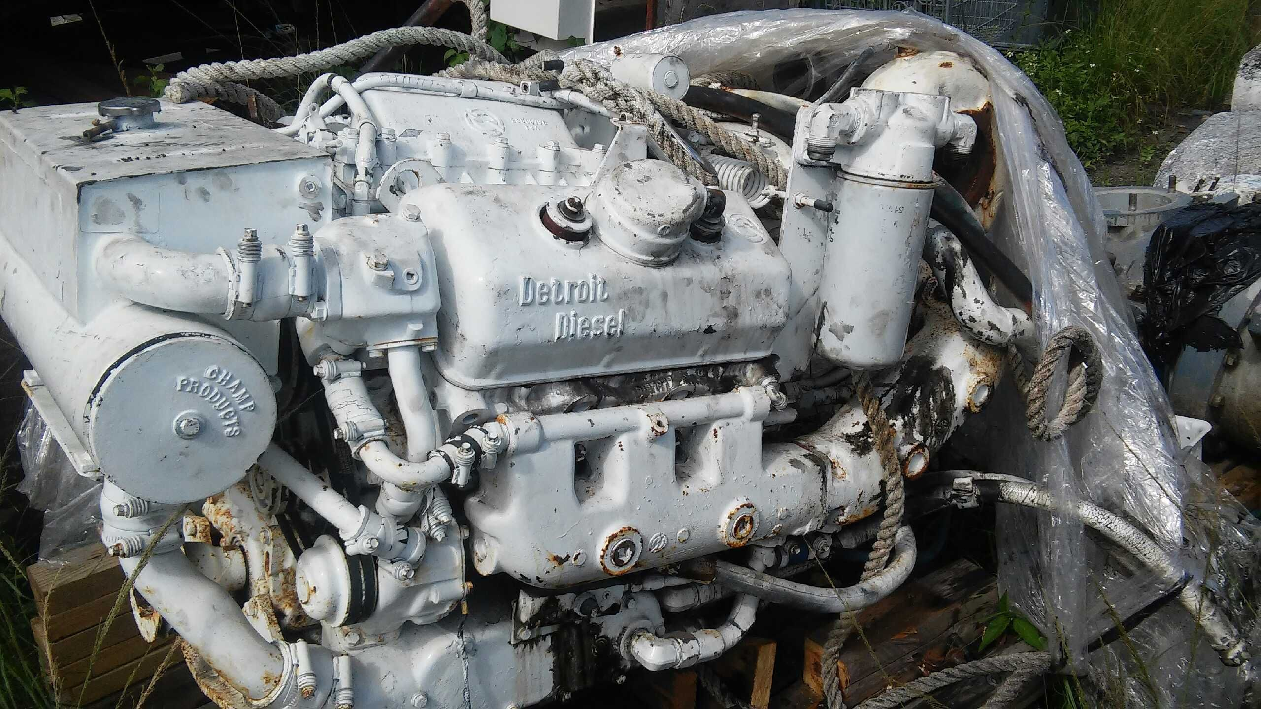 6v-53TI Used marine engine