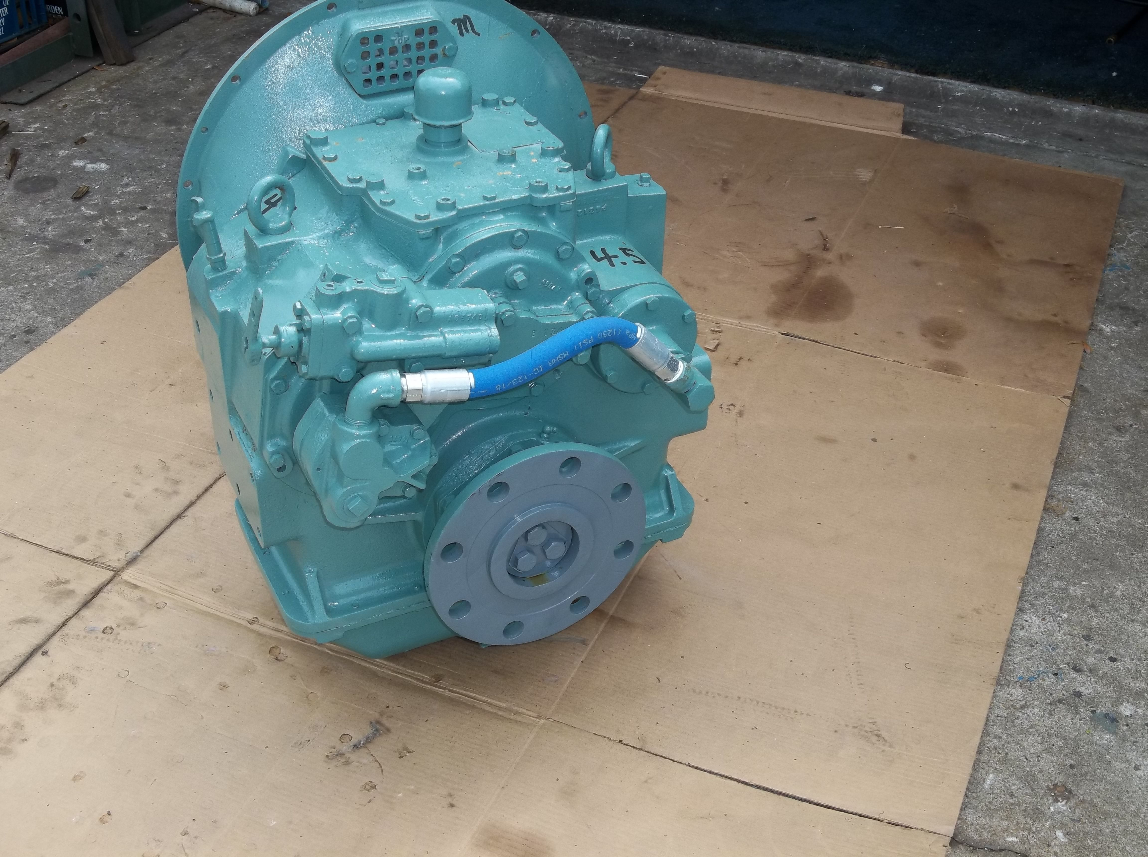MG509 Straight output rebuilt marine Trans