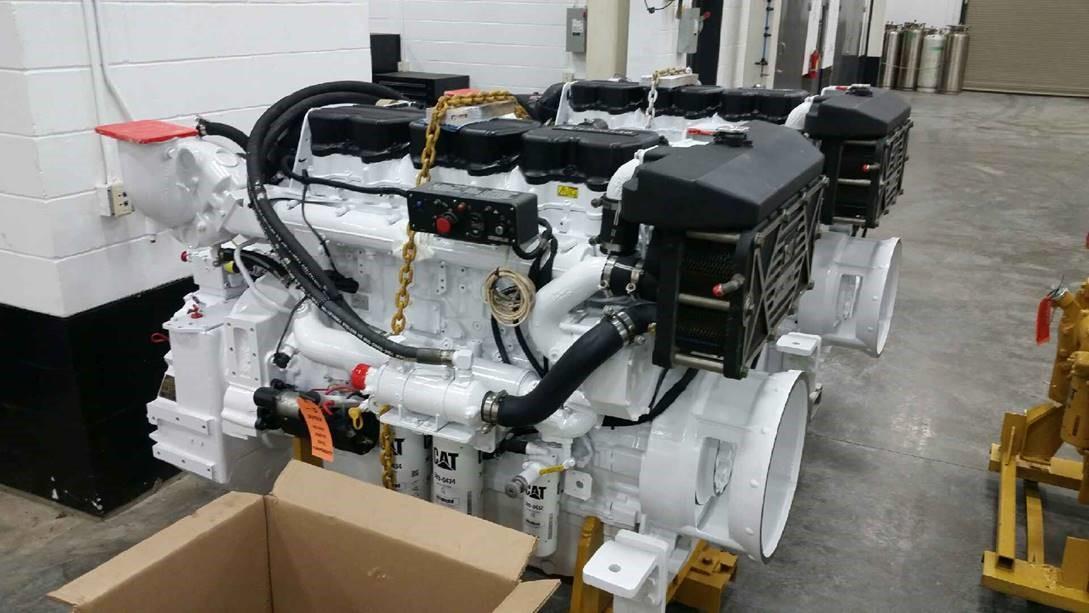 Caterpillar C18 Rebuilt Marine Engines