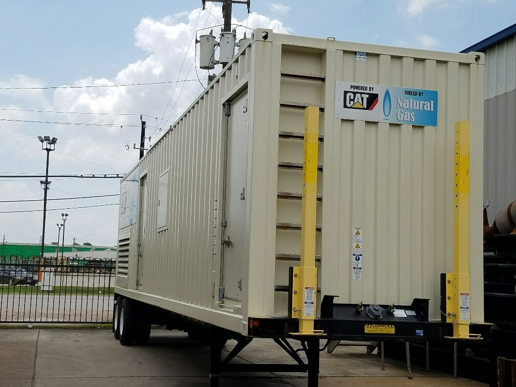 CAT G3512TA  NAT GAS  used Gen set
