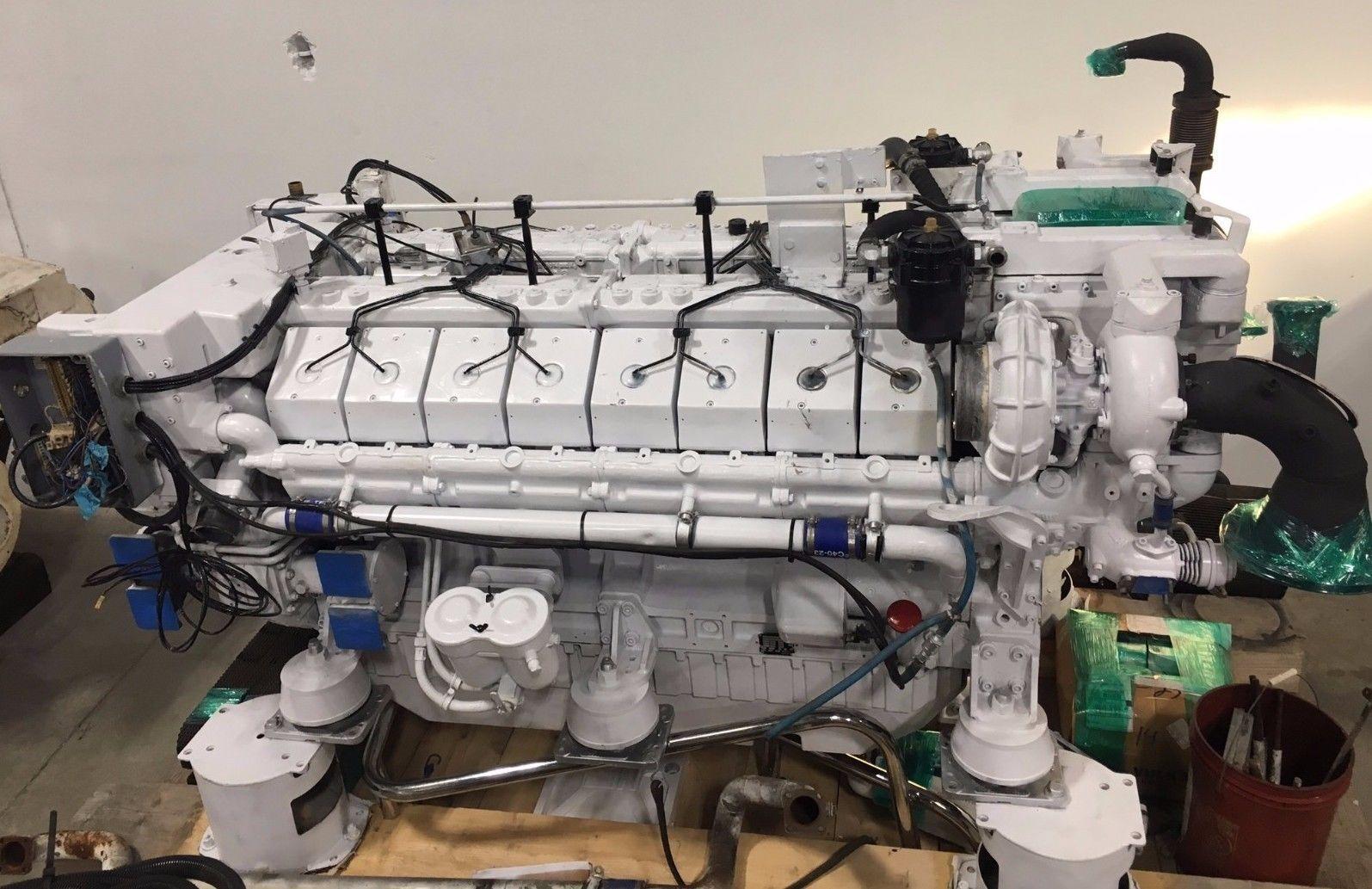 Deutz -MWM-TBD616BV16 Deutz Used Marine Engines