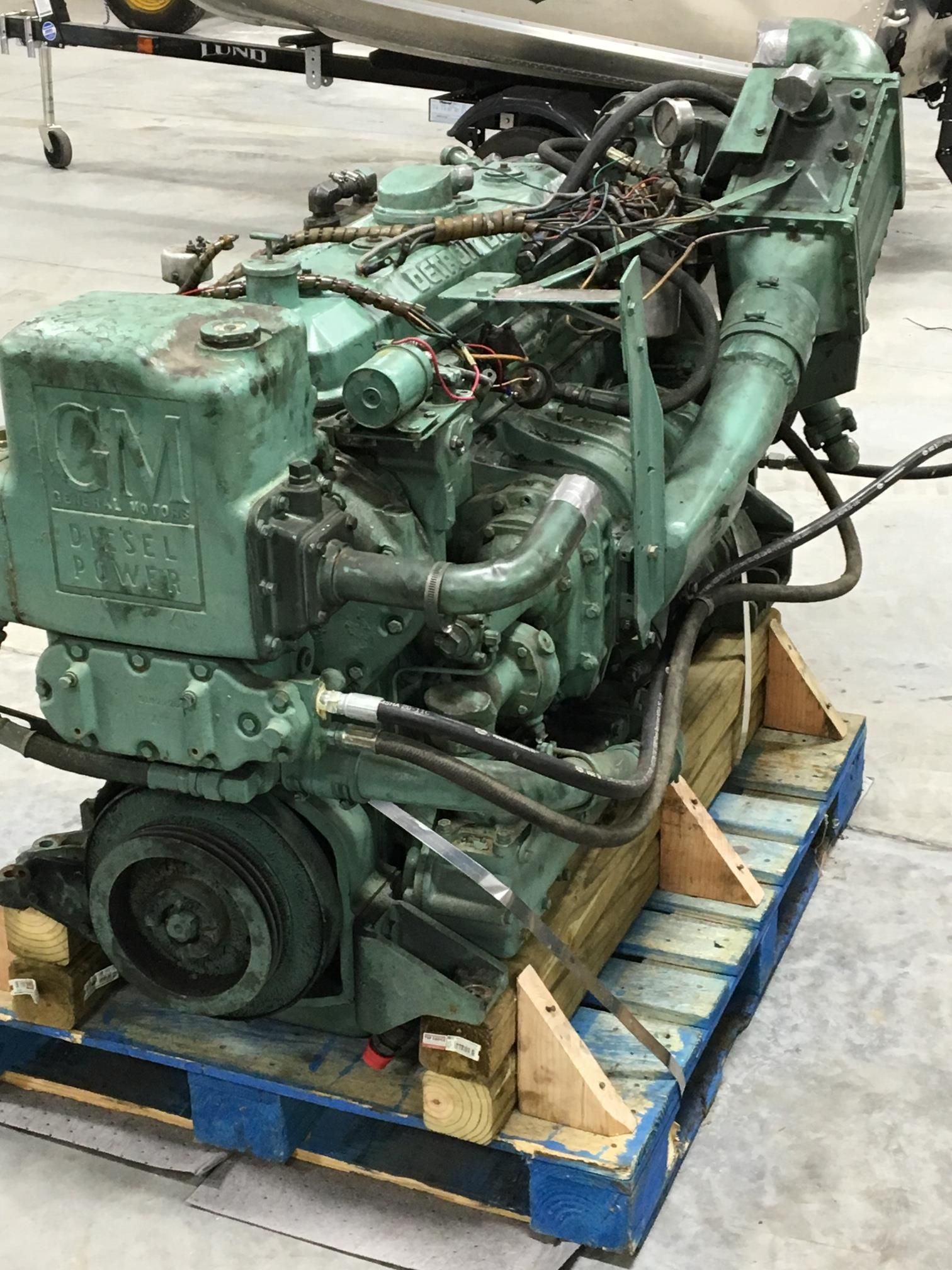 6-71TI Used Marine Engine