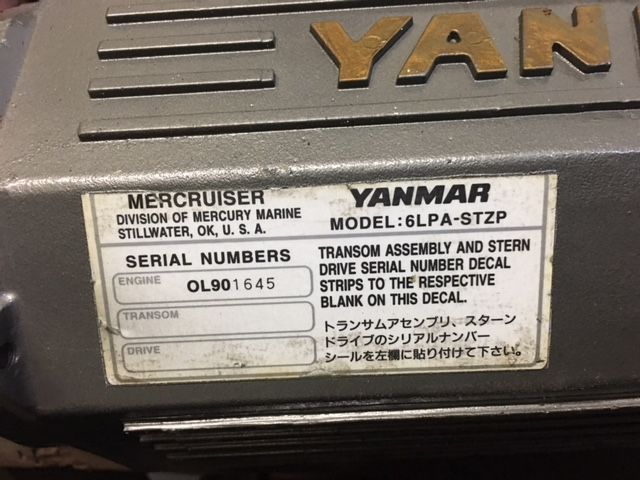 Aftercooler Yanmar 6LP-STZP -see other parts liste