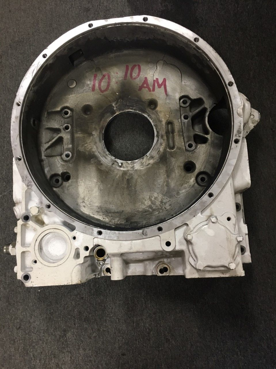 MTU 12V-2000 flywheel housing