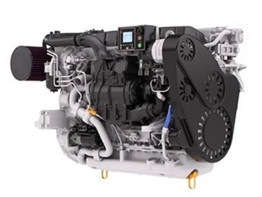 C8.7 New marine engine