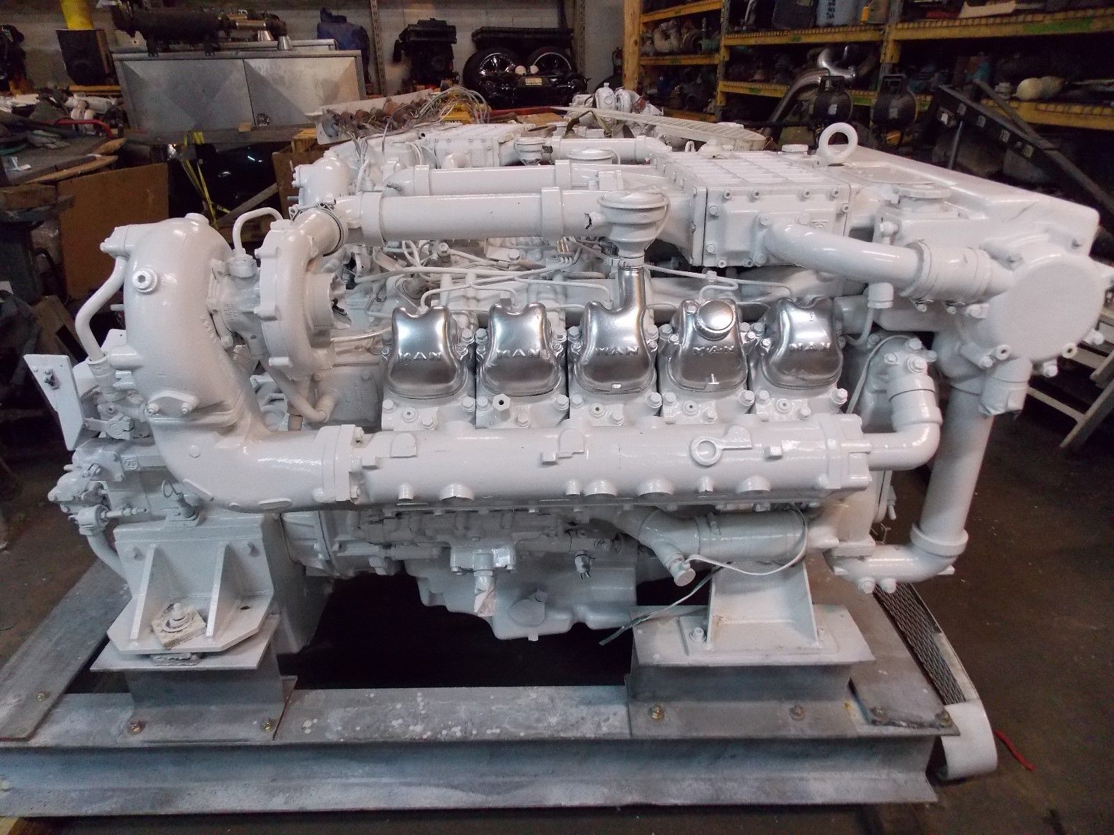 MAN D2840LXE V10 2840 Used Marine Engine