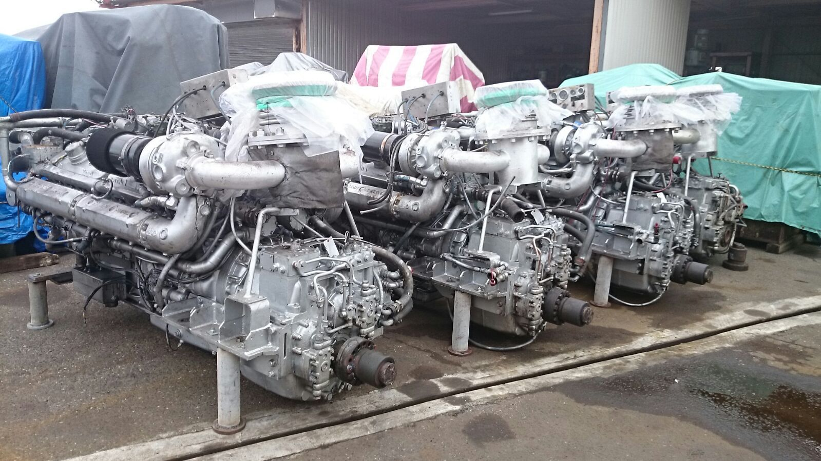 16V-92T USED MARINE ENGINES J&T