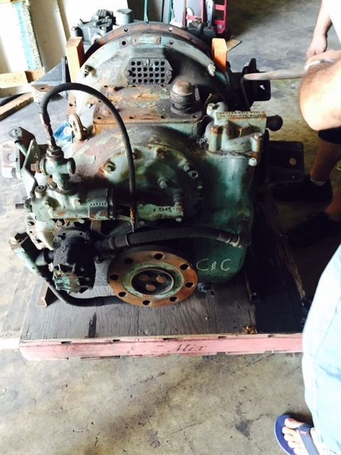 MG514 used marine gear