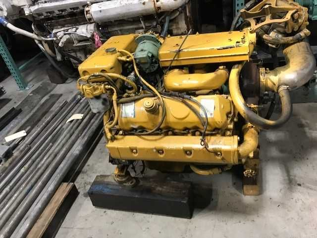 8.2T LOW HOUR FROM REBUILT MARINE ENGINES