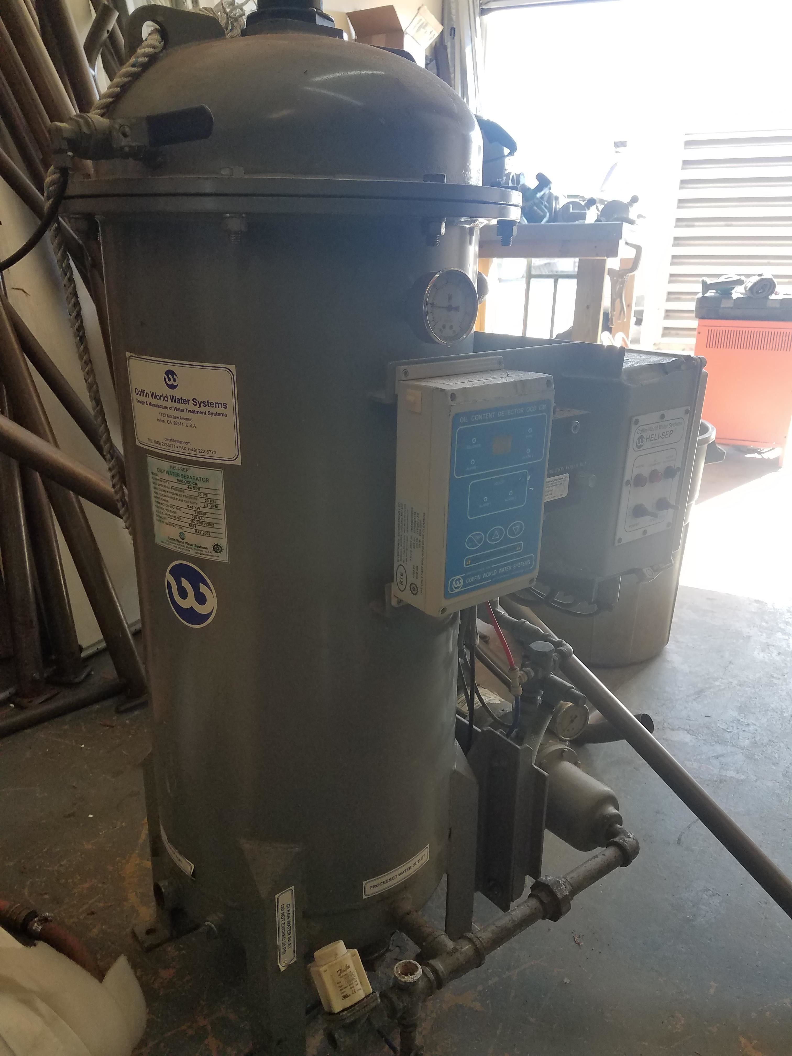 Heli-sep Oily Water Separator Coffin World Water S