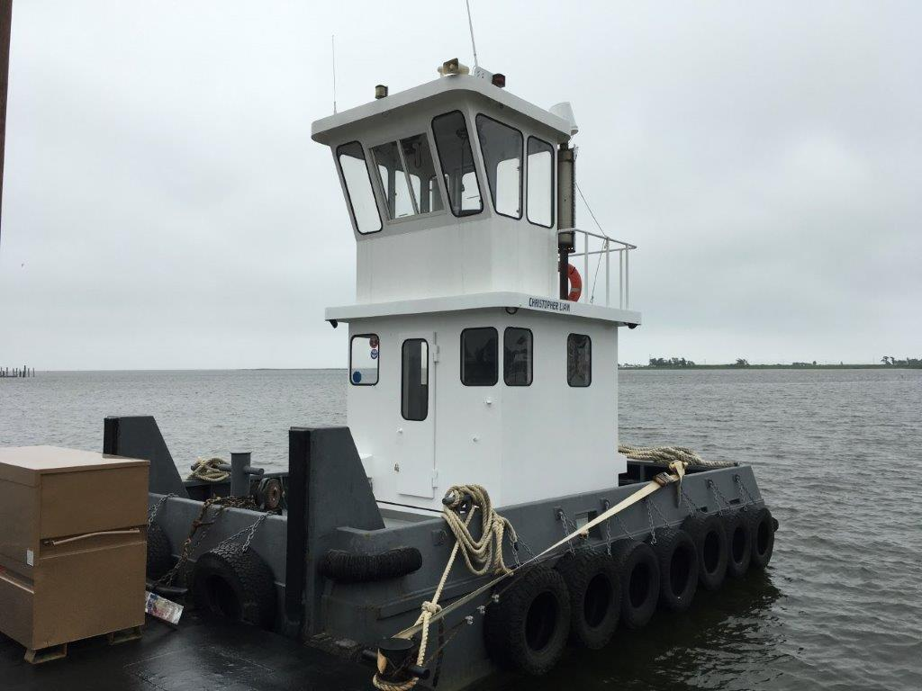 Used Truckable push boat Tug For Sale