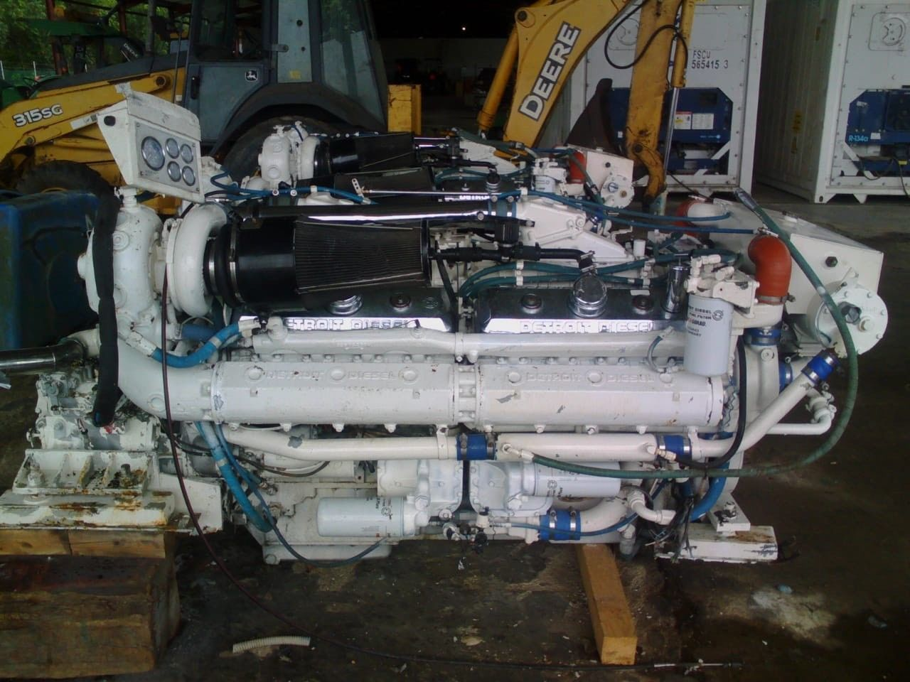 16V-92TA USED MARINE ENGINES