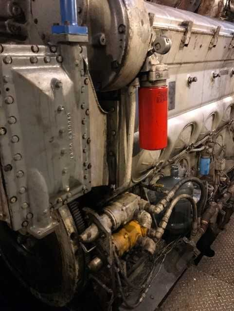 L12-645E57C   Used Marine Engine