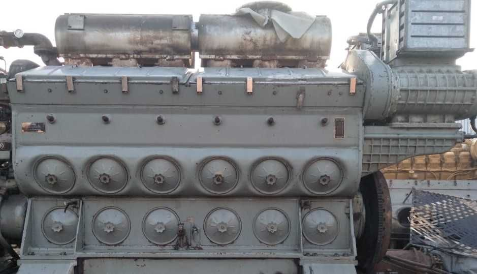 12-645E8 marine generator engines
