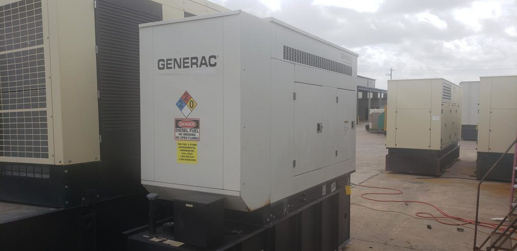 4045 HF 285 Generac/JD  gen set