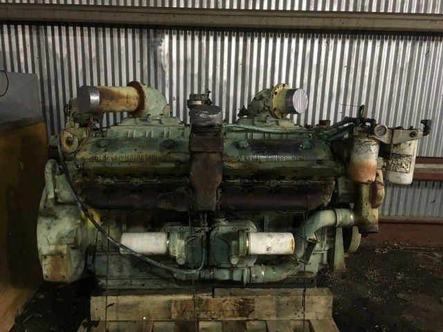 16v-71N Used Industrial  engine