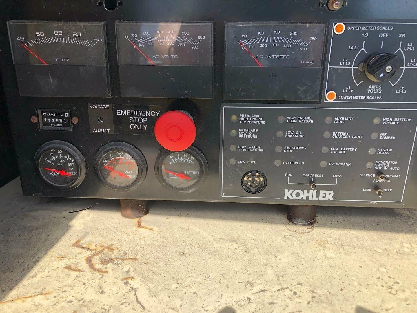 Kohler/GM Nat. Gas Generator set