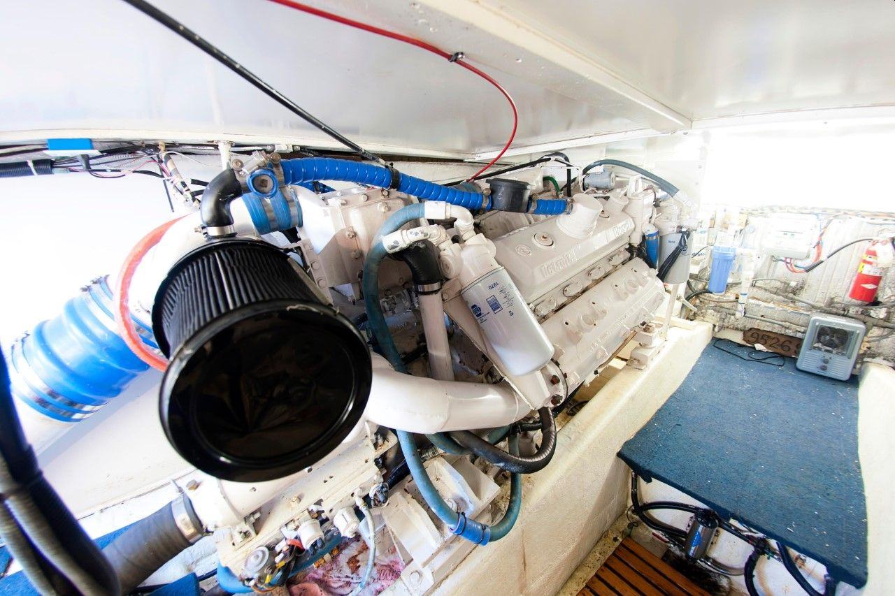 8v-92ta used marine engines