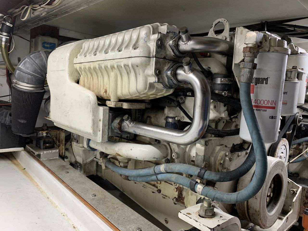 QSM11 used marine engine